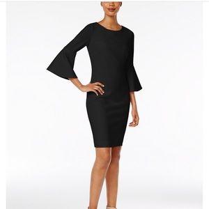 Calvin Klein Bell Sleeve Dress